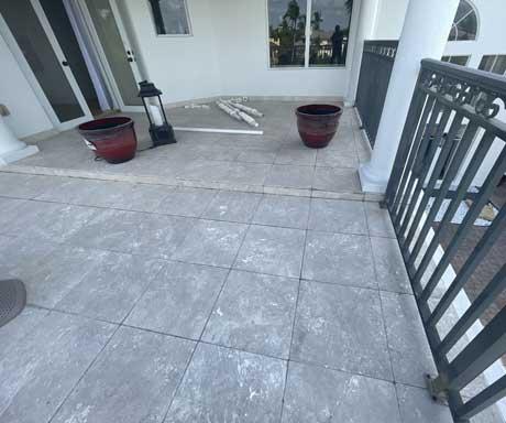 Travertine-Balcony-Before